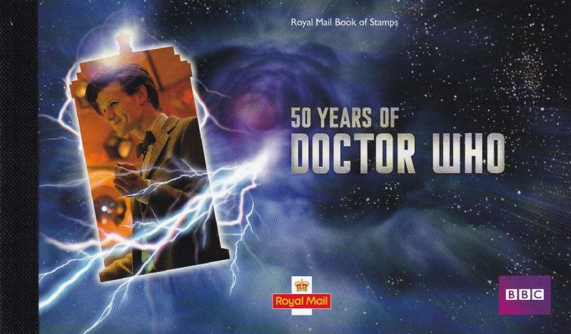 2013 Doctor Who 50th Anniversary Prestige Booklet SG DY9
